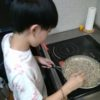 ほうかナイト活動報告@軽食の担々麺クレープ作りしてます!